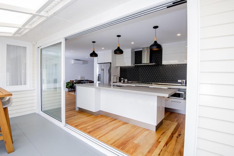 Indoor outdoor flow - Auckland bungalow renovation - Qualitas Builders