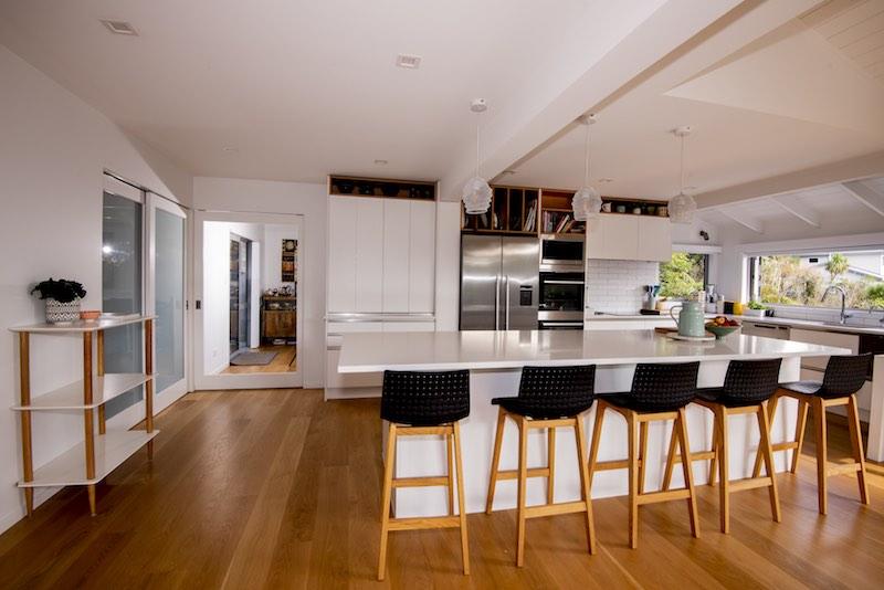 Kitchen layout Woodfern Crescent - Qualitas Builders - Waima Auckland
