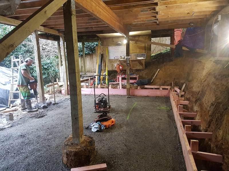 Foundations self contained unit - Woodfern Crescent - Qualitas Builders - Glen Eden