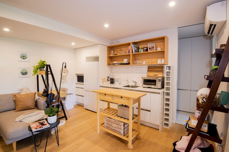 Self contained unit kitchen - Woodfern Crescent - Qualitas Builders Waima