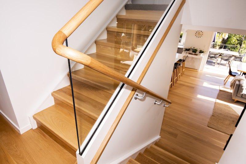 Stairwell Woodfern Crescent renovation - Qualitas Builders - Glen Eden Auckland