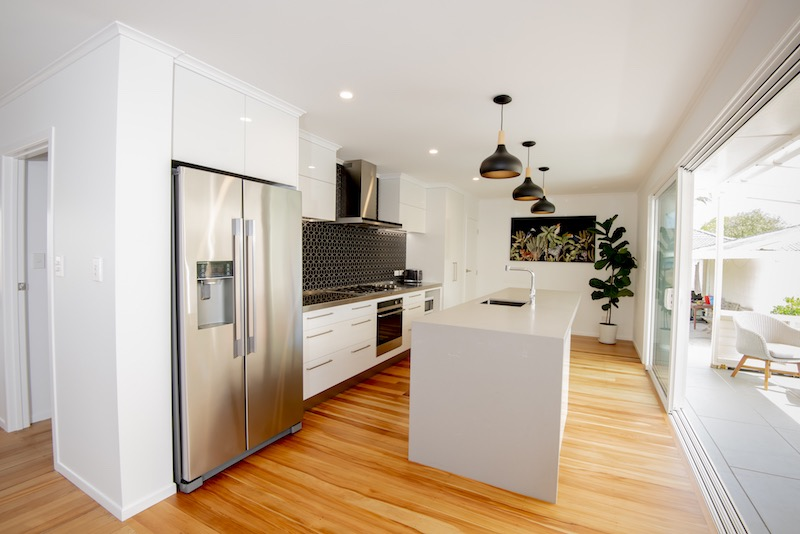 Kitchen renovation - Glen Eden bungalow - Qualitas Builders