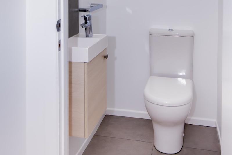 Qualitas Builders - Bathroom renovation -Swanson bungalow